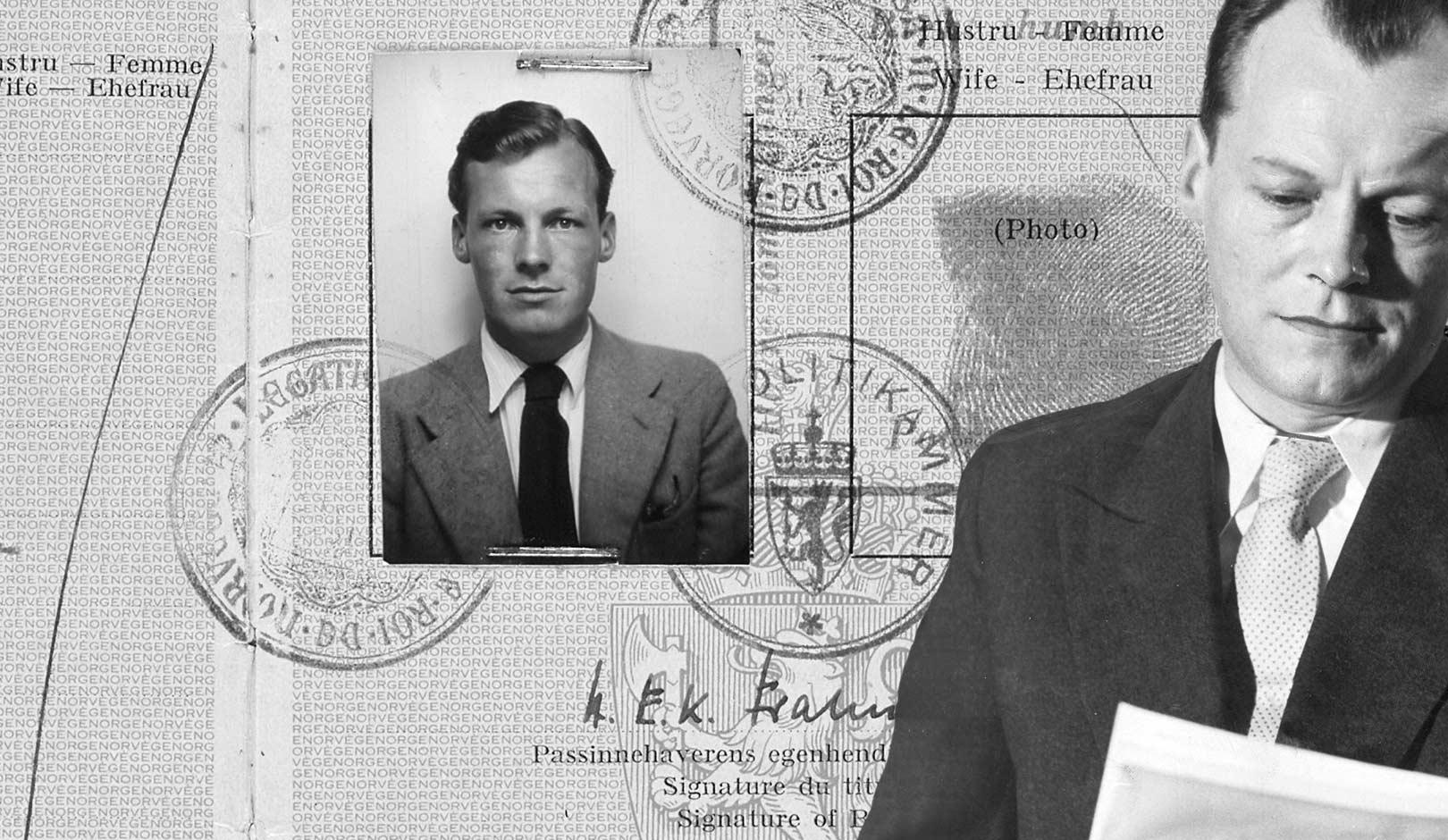 democratic socialist and journalist in sweden - Willy Brandt Lebenslauf