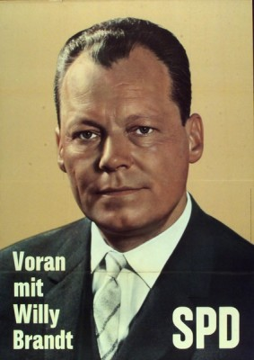 Governing Mayor and Candidate for Chancellor - Willy Brandt